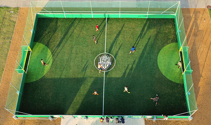 Mini-Pitch at Together Square OKC