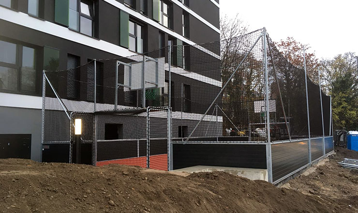 Urban Living Soccer Arena in South-Cologne