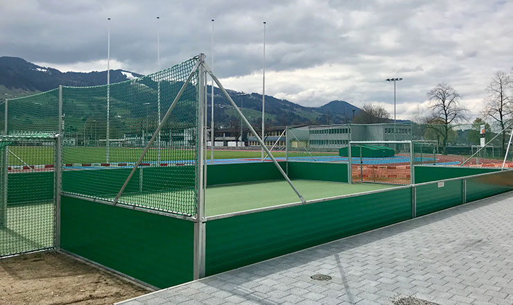Small Sided Soccer Pitch in Switzerland
