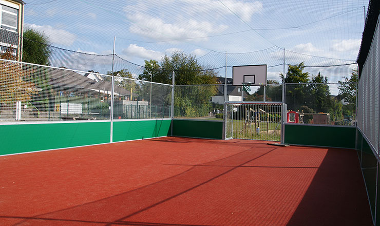 Multipurpose Mini-Pitch for Elementary School Vilkerath