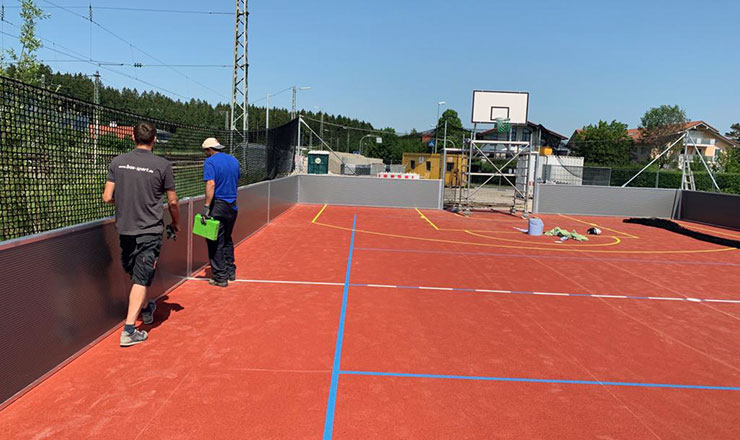 New Soccer Arena in Holzkirchen