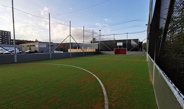 Fitness Club Pacific Spa gets Multisport Mini-Pitch
