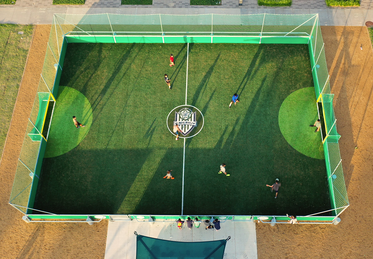 New Mini Pitch Unveiled In Oklahoma City Soccerground