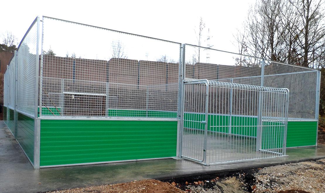 Youth playground in Lauf-Pegnitz