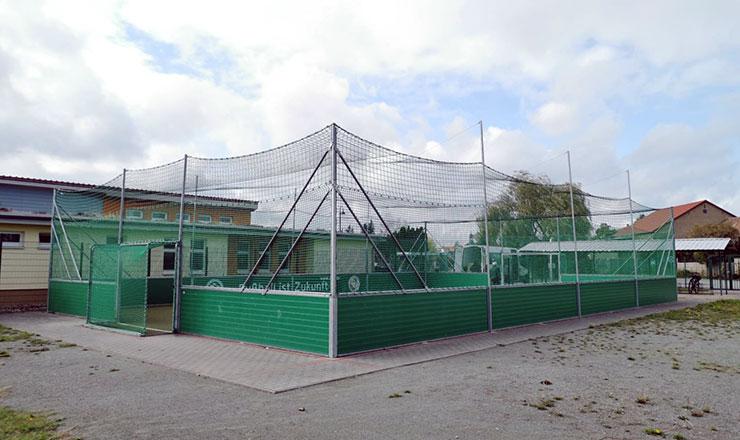 Roofnetting for DFB mini-pitch Flechtingen