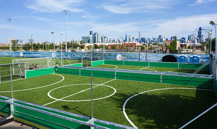 Fleet Fields Soccer Mini-Pitches, Chicago, IL, USA