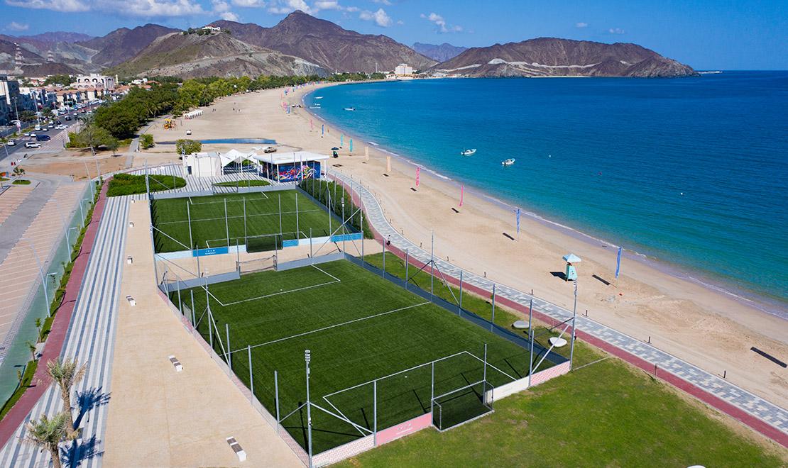 Soccer Mini-Pitches at Khor Fakkan Beach