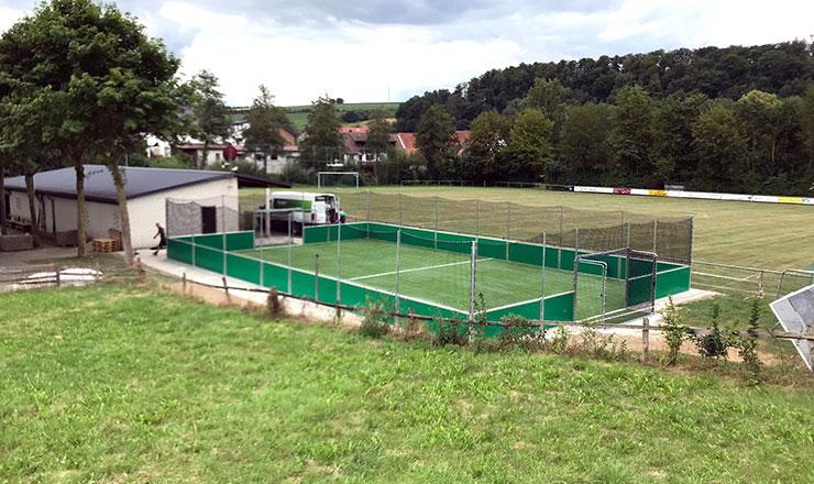 SoccerGround Kleinspielfeld for HSV Hegensdorf