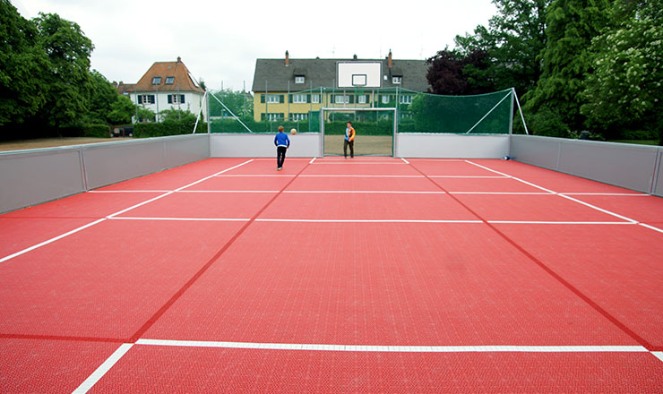 Schoenbergschool gets arena for multisports