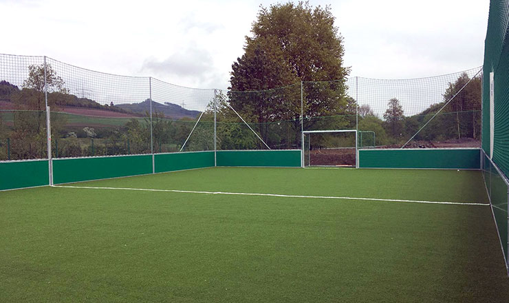 SoccerGround Mini-Pitch for the local community Meschede