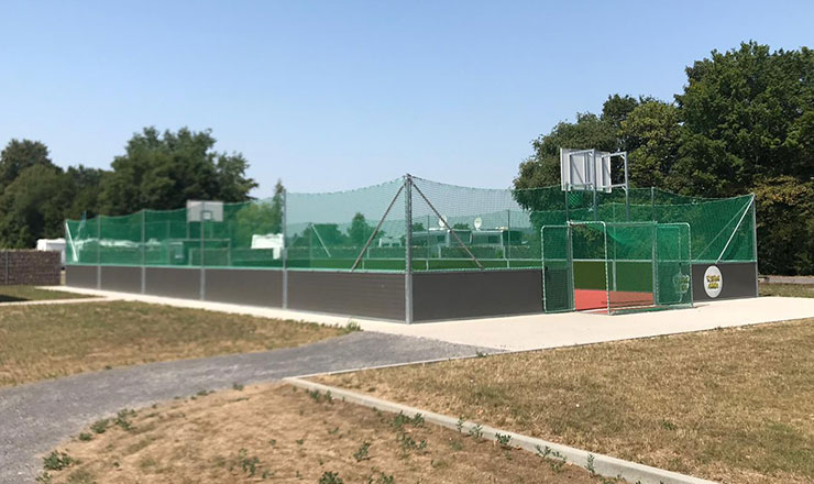 PolyPlay Sport Court in Urmitz