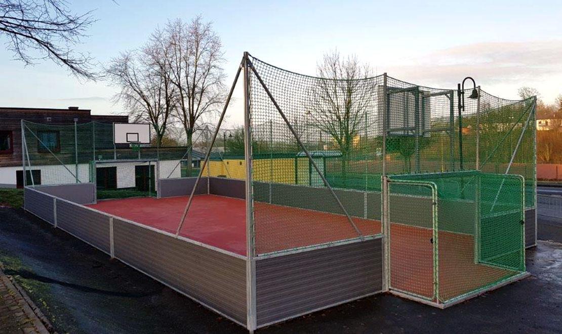 Multipurpose Arena for Youth Center Hachenburg