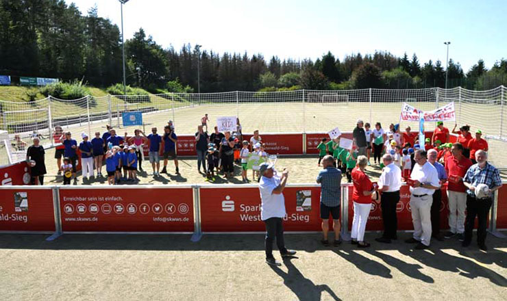 Portable Soccer Court for Hamm-Westfalen