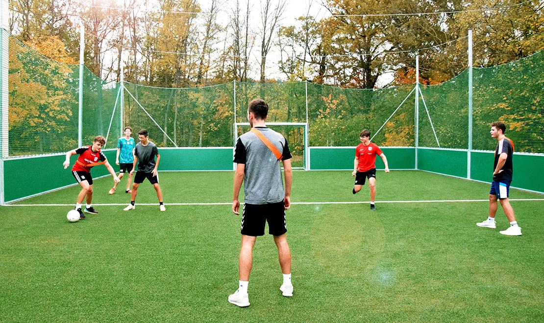 DFB mini-pitch for Eggenfelden