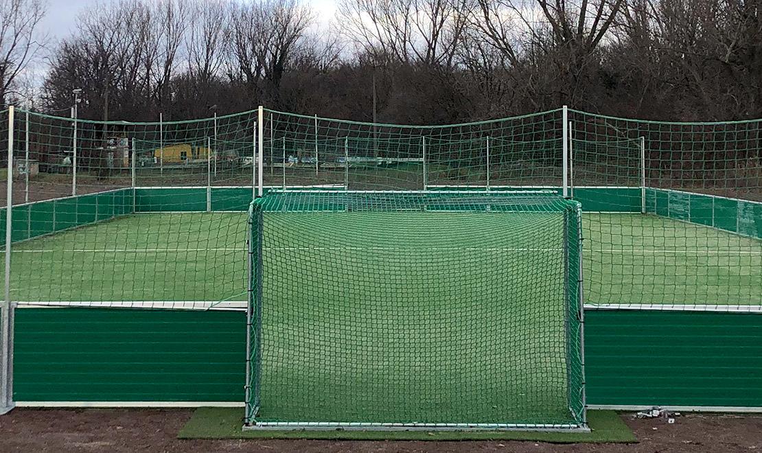 New big mini-pitch for Hallescher FC