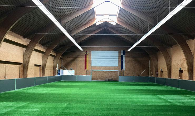 Indoor Soccer Court in Ebnet, Switzerland